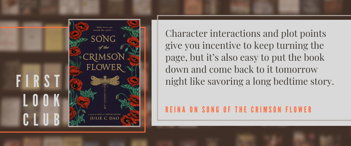 First Look Club: Reina reviews Song of the Crimson Flower