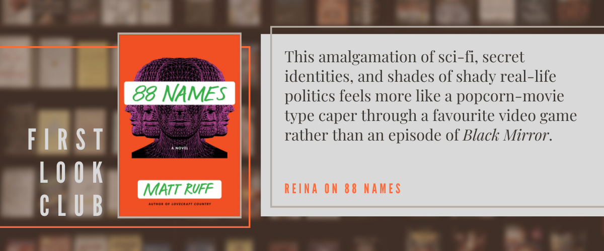First Look Club: Reina reviews 88 Names