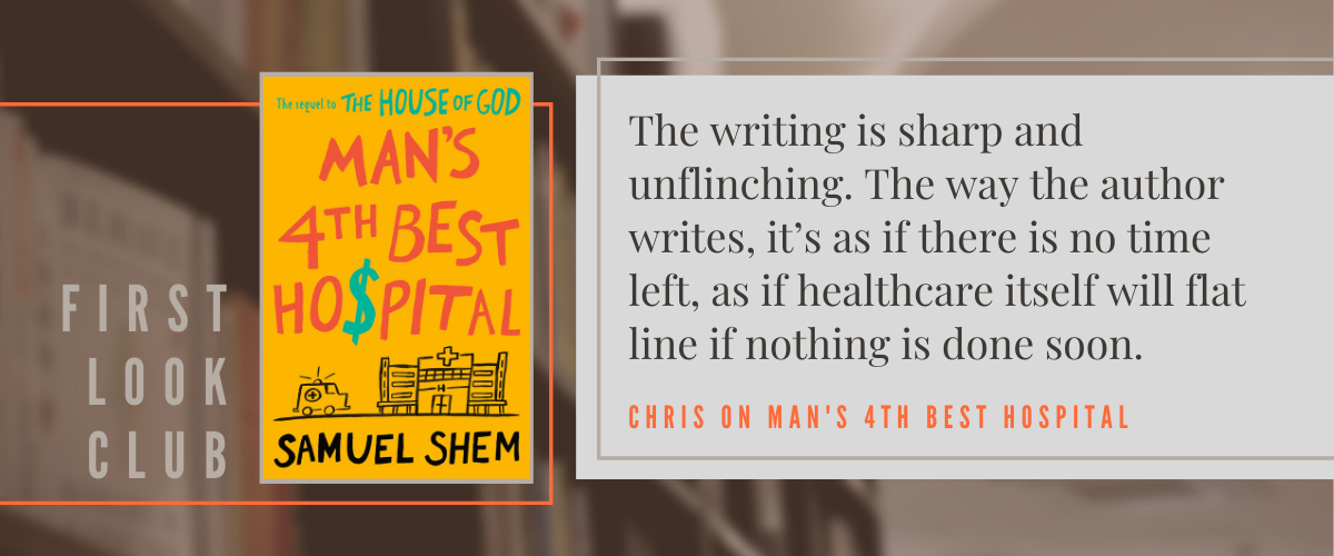 First Look Club: Chris reviews Man's 4th Best Hospital