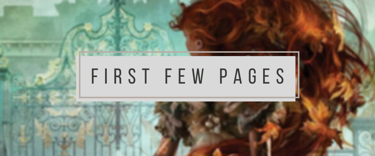First Few Pages: Chain of Gold