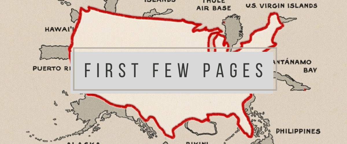 First Few Pages: How to Hide an Empire