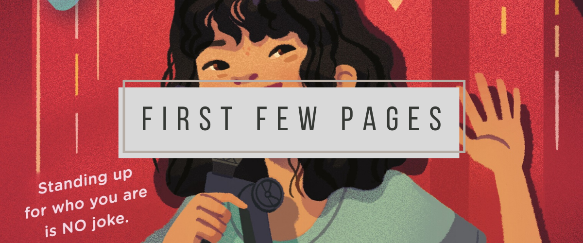 First Few Pages: Stand Up, Yumi Chung!