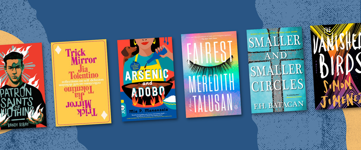 Books by Filipino authors for all kinds of moods