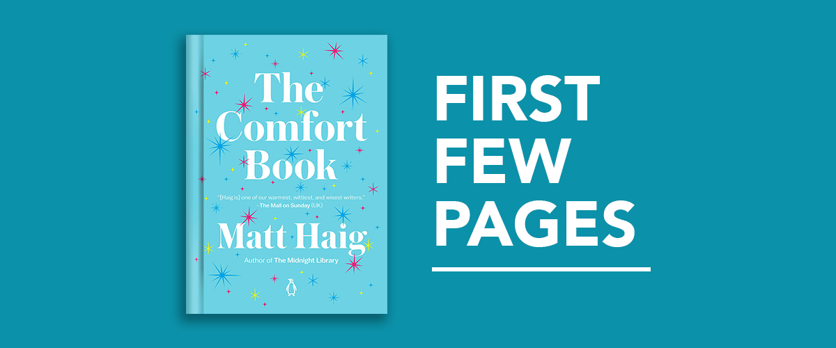 First Few Pages: The Comfort Book by Matt Haig