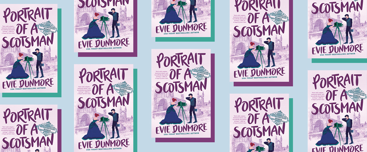 First Look: Portrait of a Scotsman by Evie Dunmore