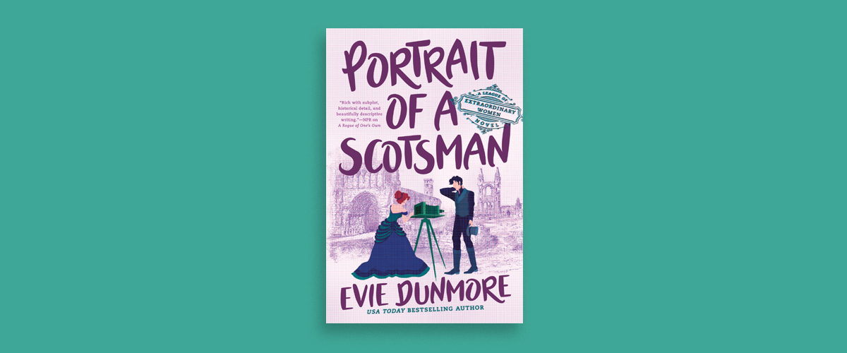 First Look Club: Reina reviews Portrait of a Scotsman by Evie Dunmore