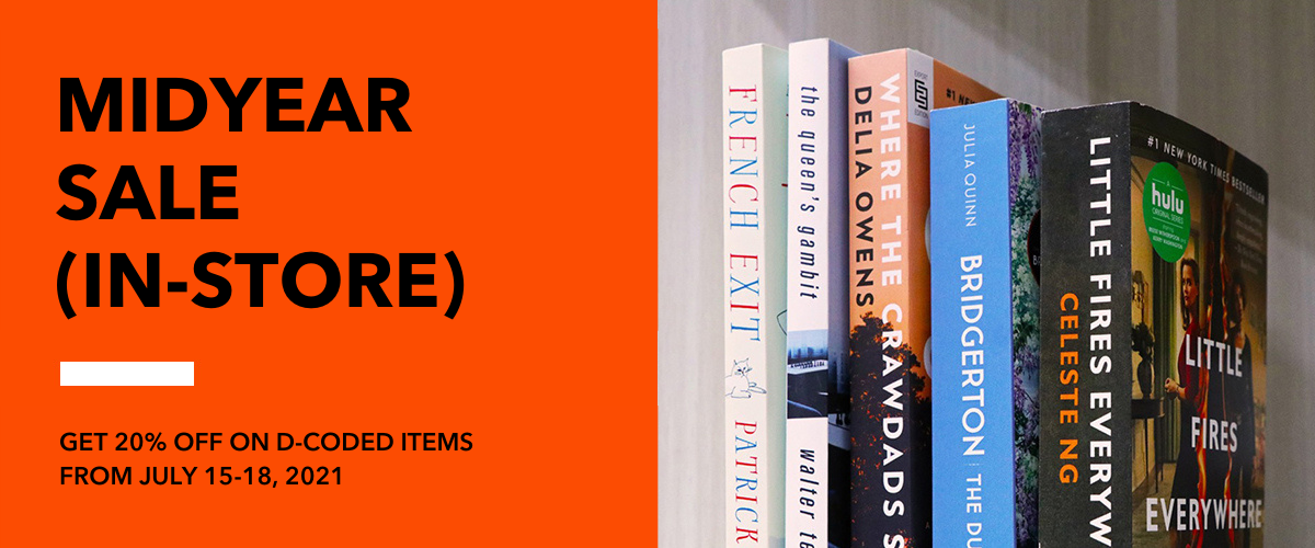 Sale Alert: Fully Booked Midyear Nationwide In-Store Sale