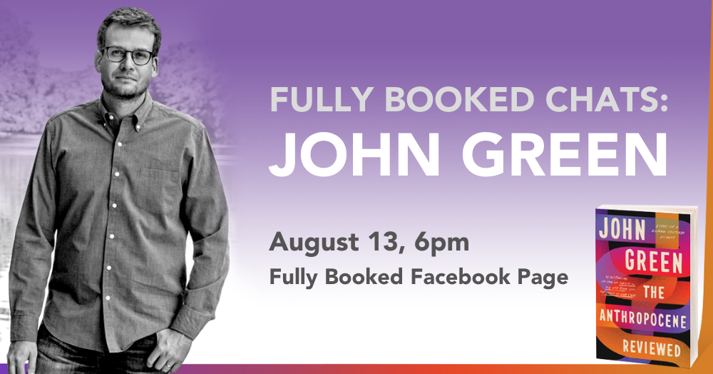 Fully Booked set to host first PH online event with best-selling author John Green