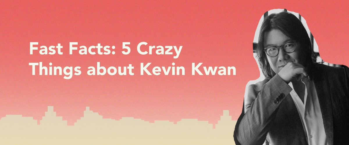 Fast facts: 5 crazy things about Crazy Rich Asians author Kevin Kwan
