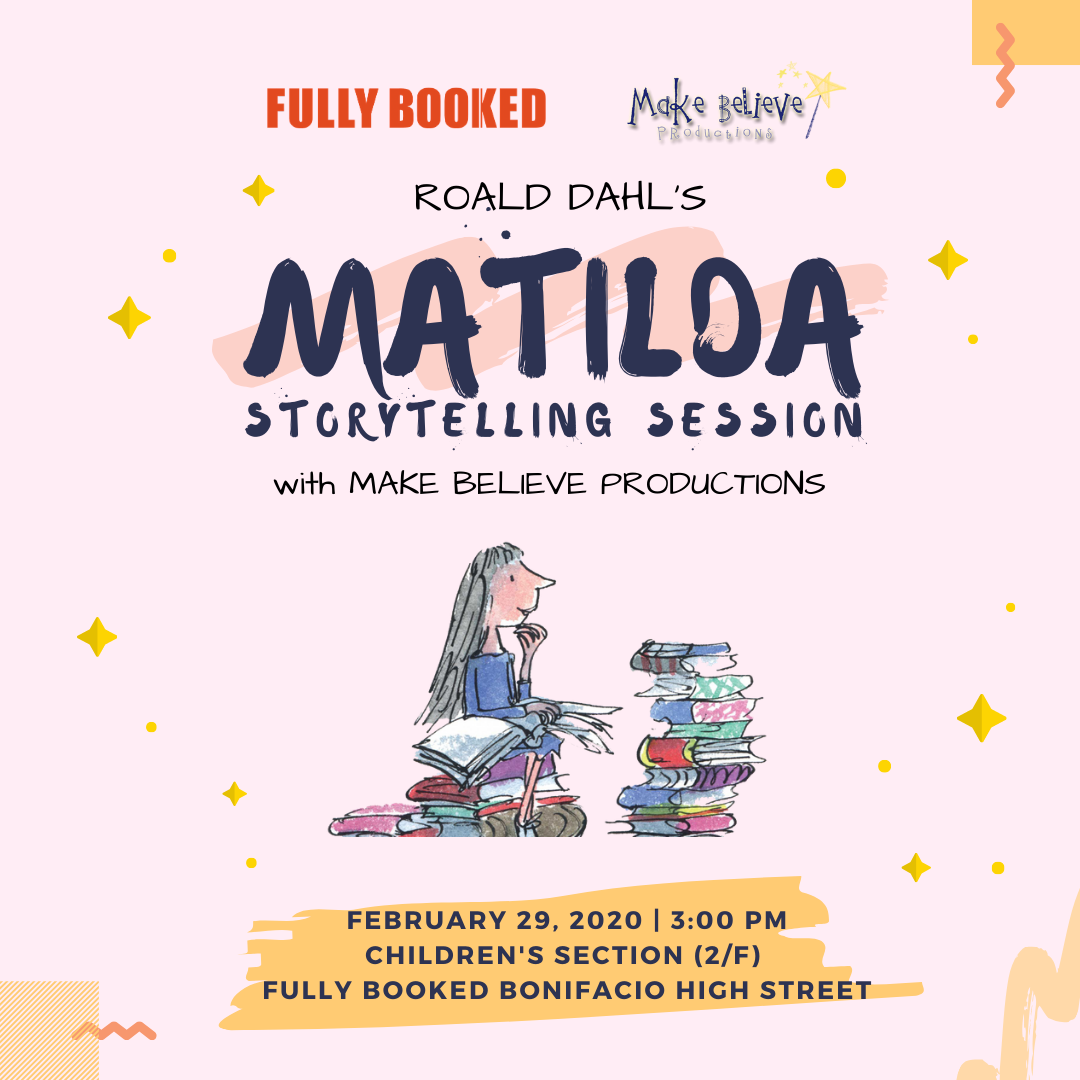 Matilda Storytelling with Make Believe Productions