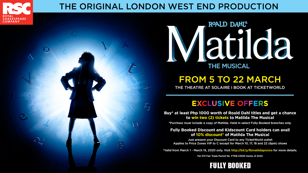 Matilda, The Musical Promo