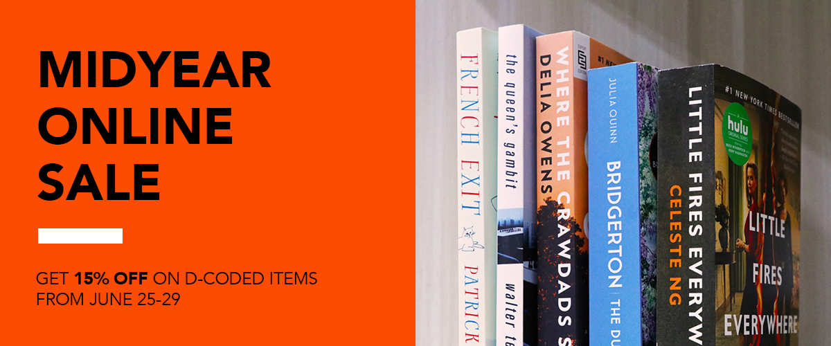 Sale Alert: Fully Booked Online Midyear Online Sale