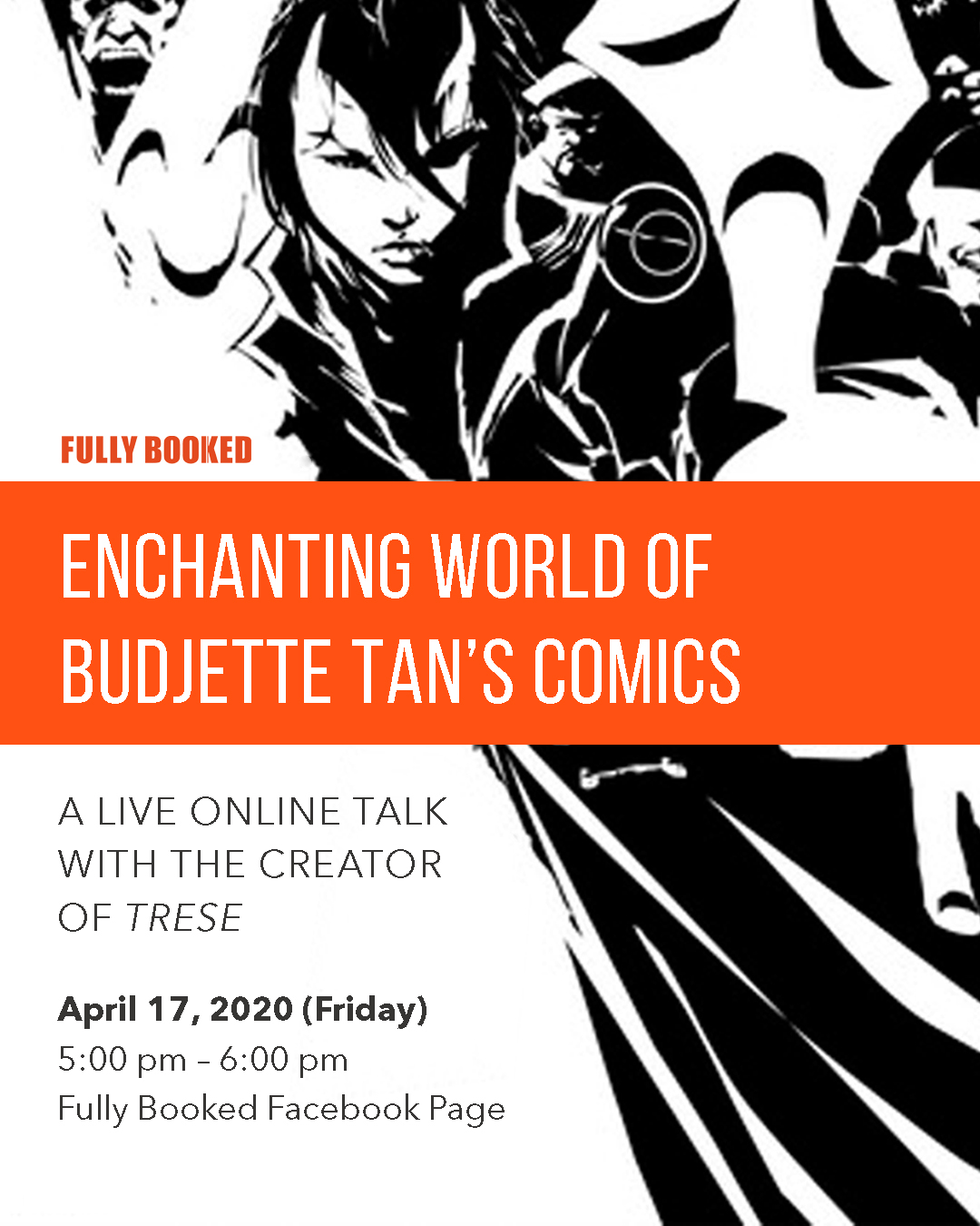 Fully Booked Live: Enchanting World of Budjette Tan's Comics