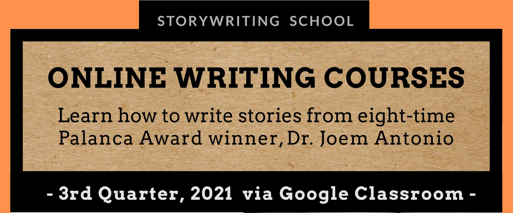 Online Writing Classes with Storywriting School