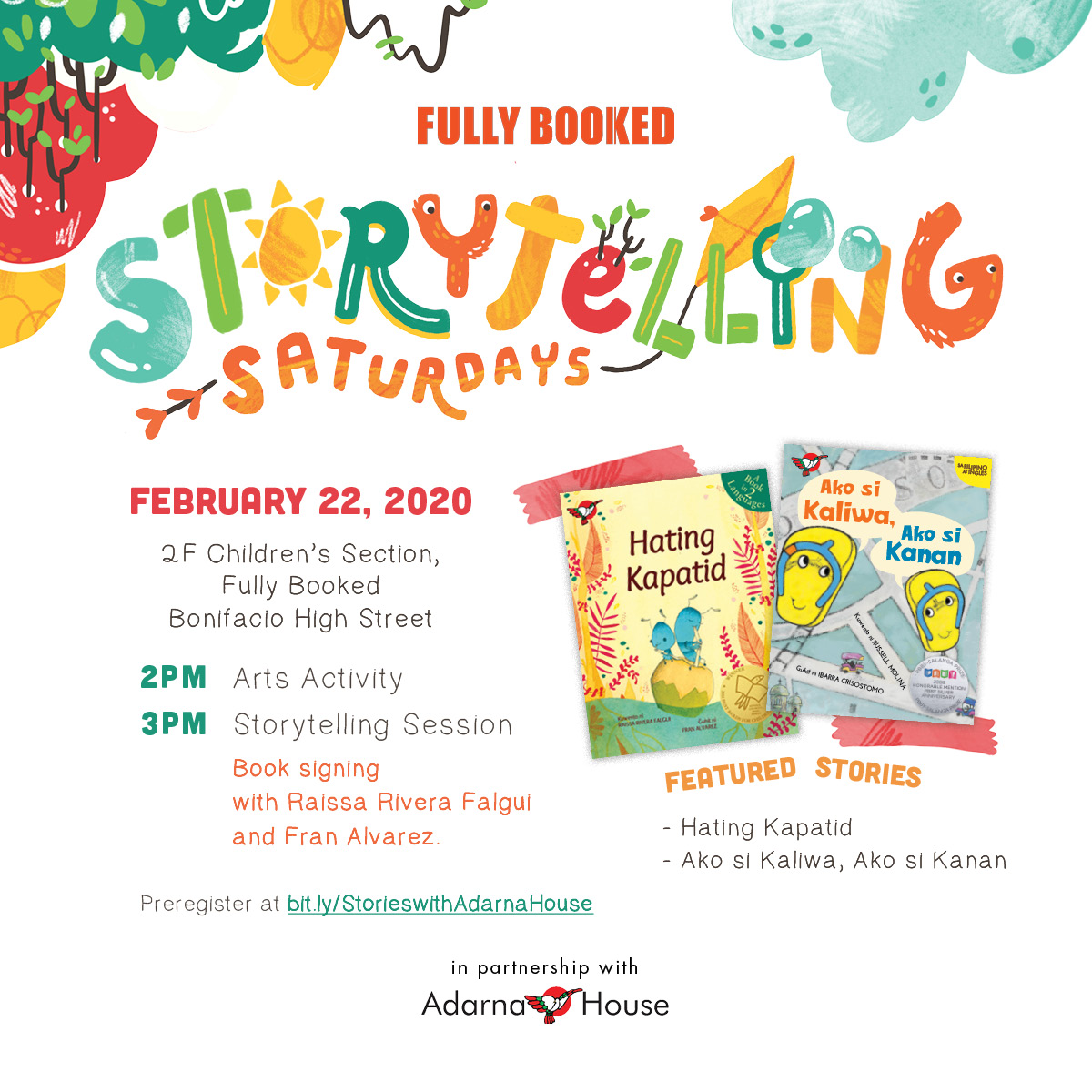 Adarna Storytelling Saturdays
