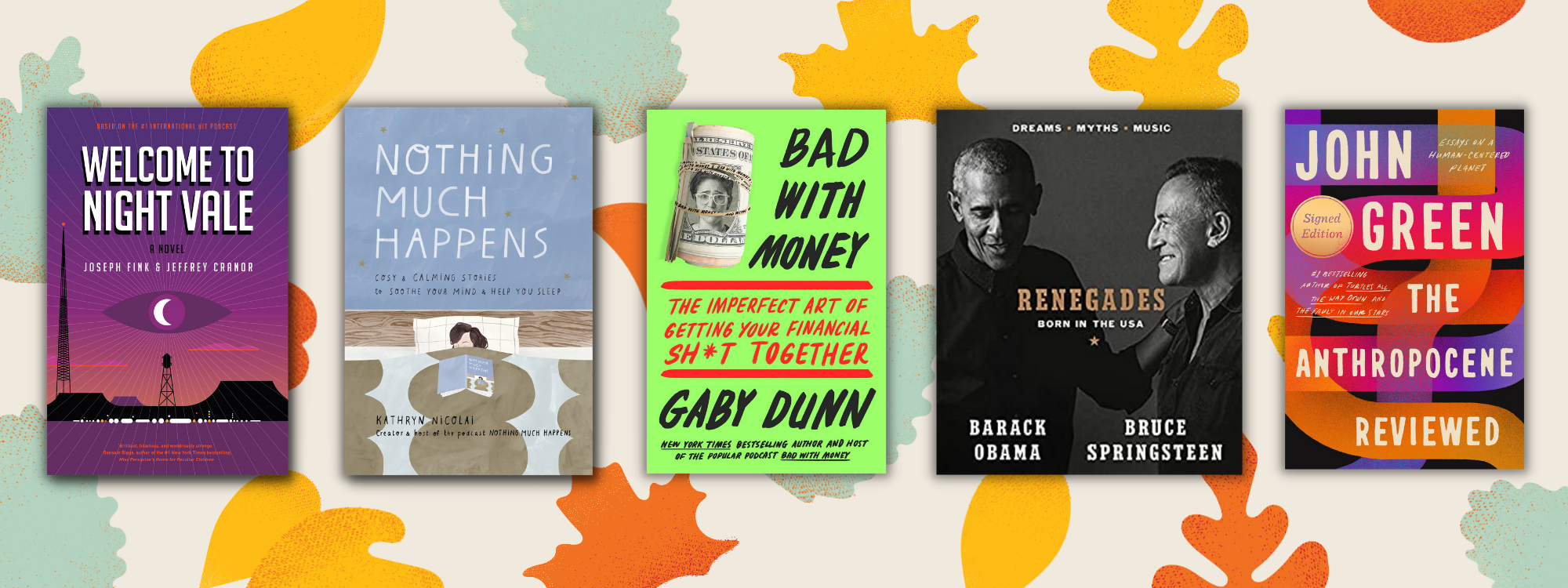 5 books based on podcasts