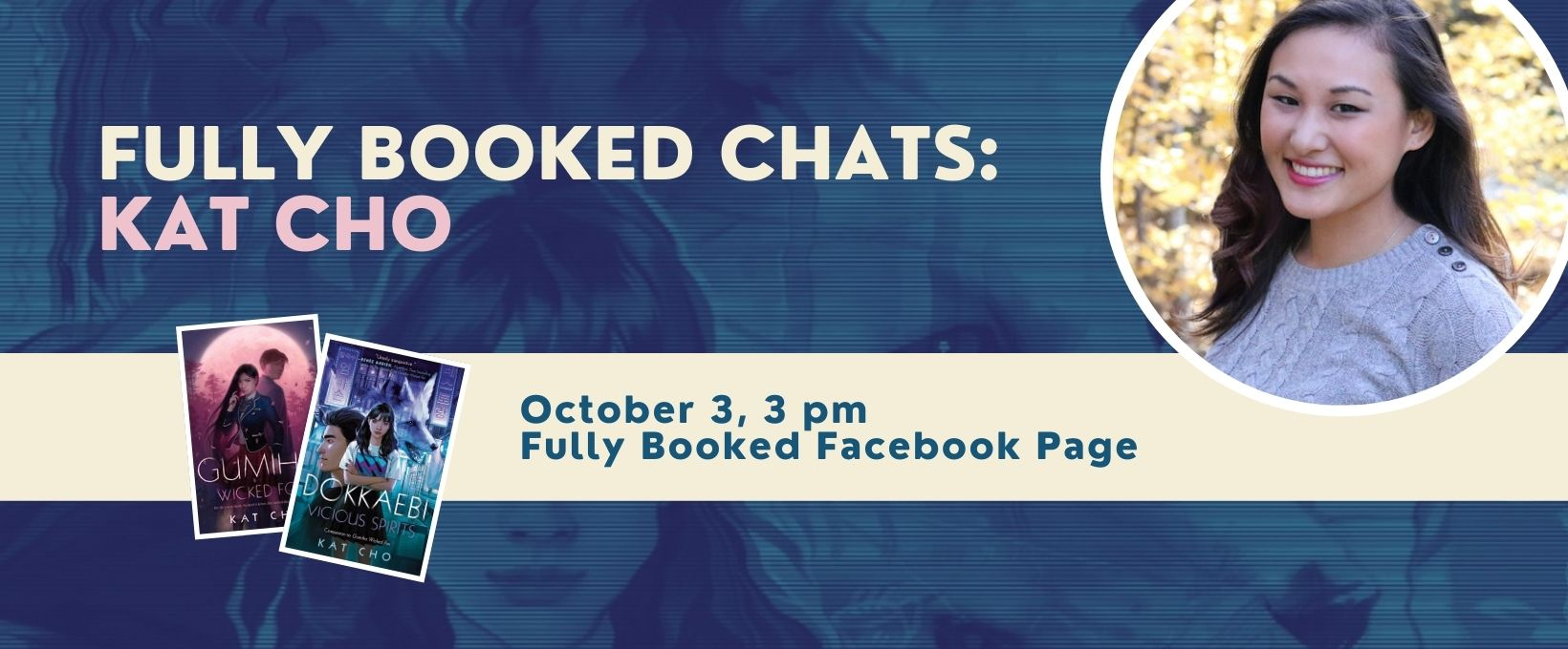 Fully Booked Chats: Kat Cho