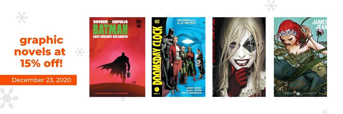 Graphic Novels at 15% off!   12 Days of Holiday Reads