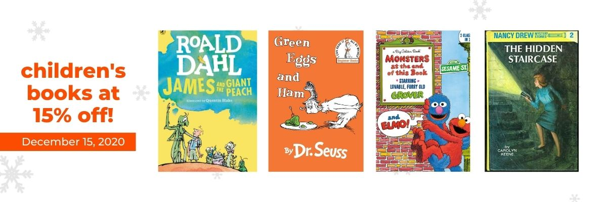 Children's Books at 15% off!   12 Days of Holiday Reads