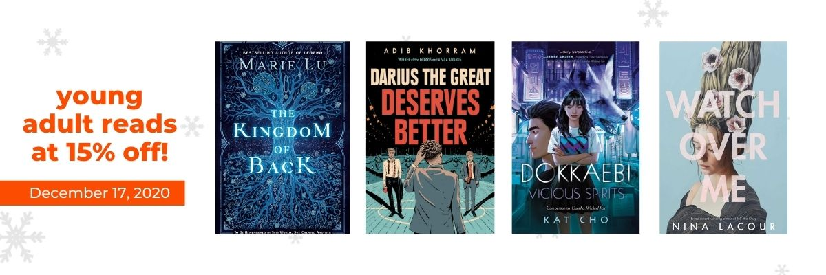 Young Adult Reads at 15% off!   12 Days of Holiday Reads