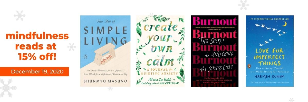 Mindfulness Reads at 15% off!   12 Days of Holiday Reads