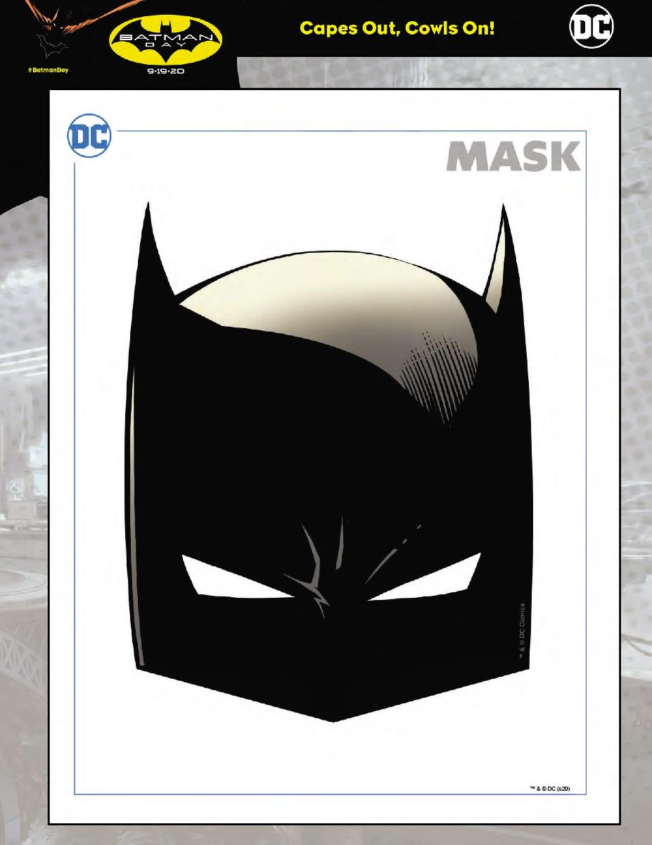 Batman Day - Downloadable Mask