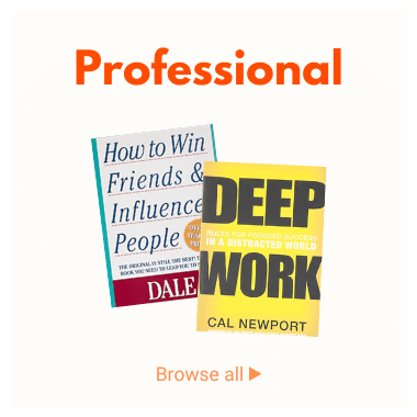 Professional Books: Business, Psychology, Leadership, Self-Help, Management