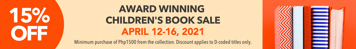 15% off Award Winning Chidren's Book Sale April 12-16, 2021