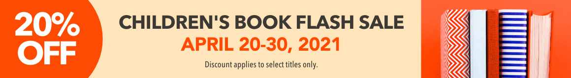 20% Children's Book Flash Sale