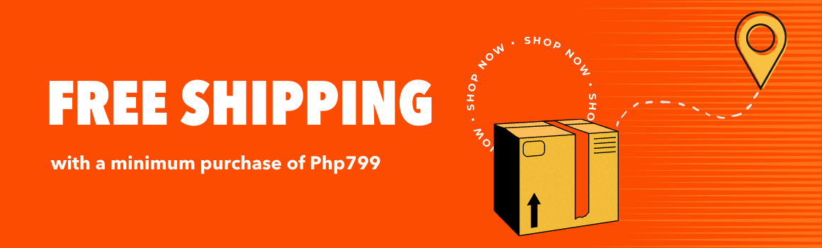 Free shipping Php799