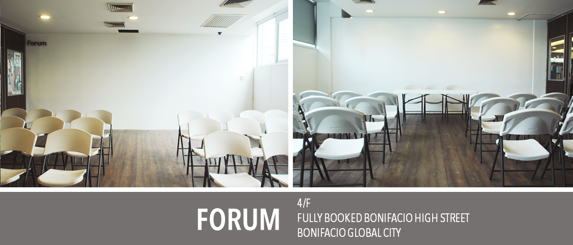 Fully Booked The Forum event space