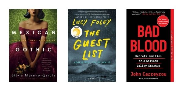 Reading Challenge 2021: Page-turner mystery
