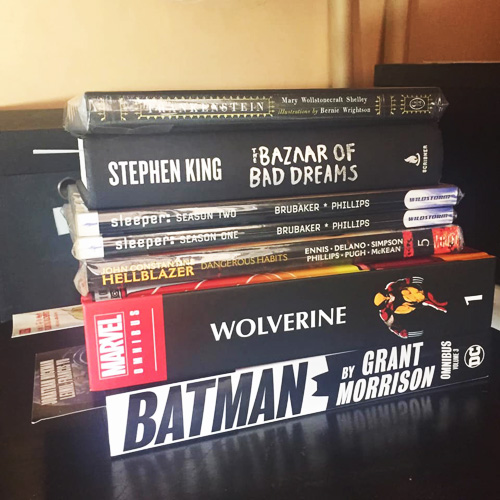 Clifford's To-Be-Read Pile