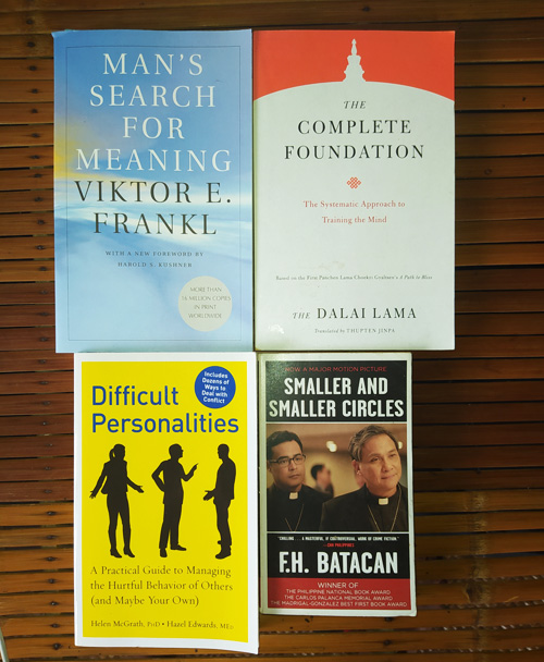 Liezl's To-Be-Read Pile