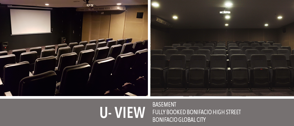 The Fully Booked U-View