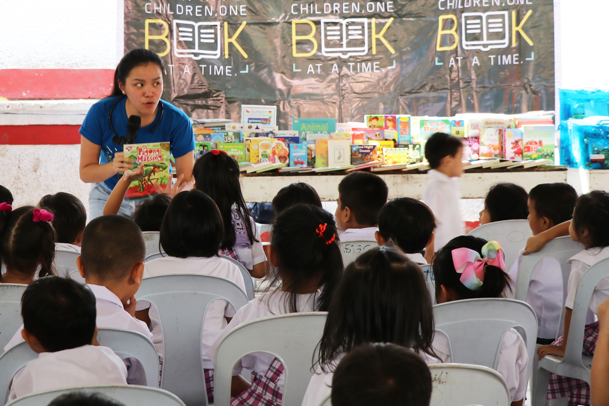 Fully Booked Foundation Outreach Nov 11 2019