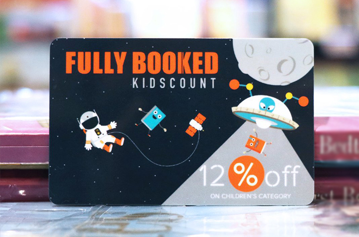 fully booked kidscount card for growing readers