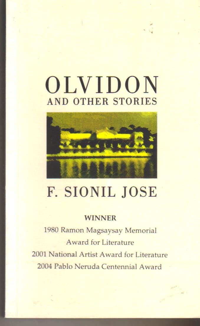 Olvidon and Other Stories by F. Sionil Jose